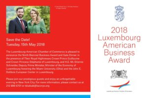 Luxembourg-American business awards