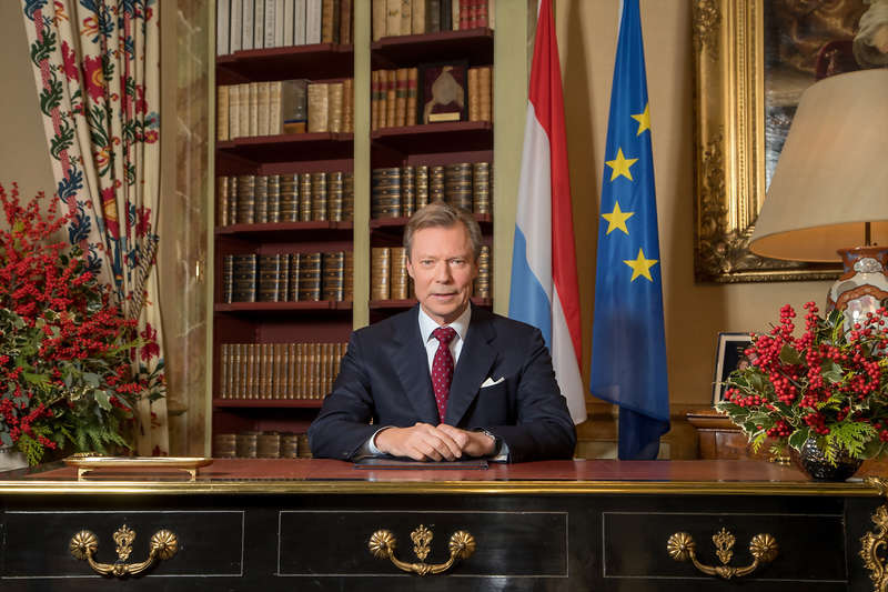 Grand Duke Henri Delivers Christmas Message