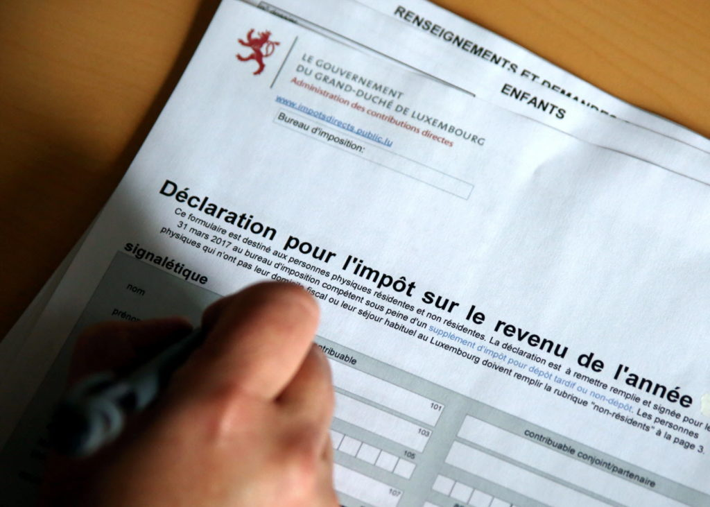 a luxembourg tax return