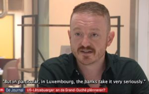 LuxCitizenship founder Daniel Atz speaks in an interview with RTL Today about the FATCA policy.